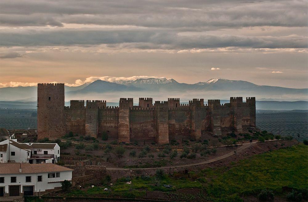 Castillo En Banos De La Encina Jaen Espana Monument Valley