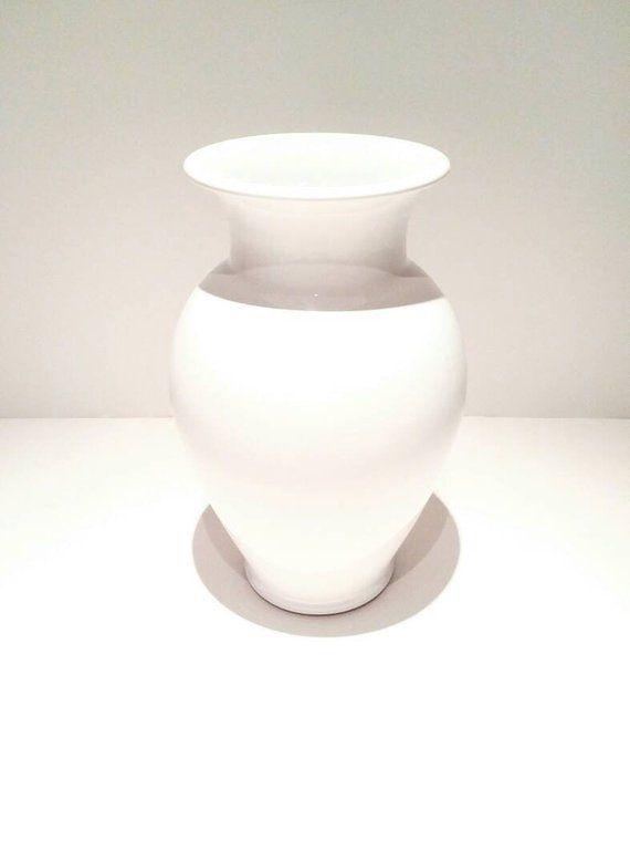 White Ceramic Vase Tall White Vase Wedding Decor In 2018 Etsy
