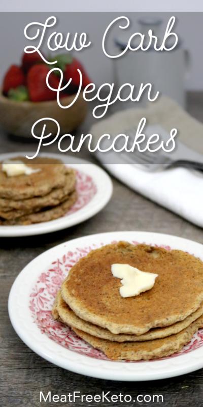 Low Carb Vegan Pancakes Gluten Free Egg Free Dairy Free Soy Free