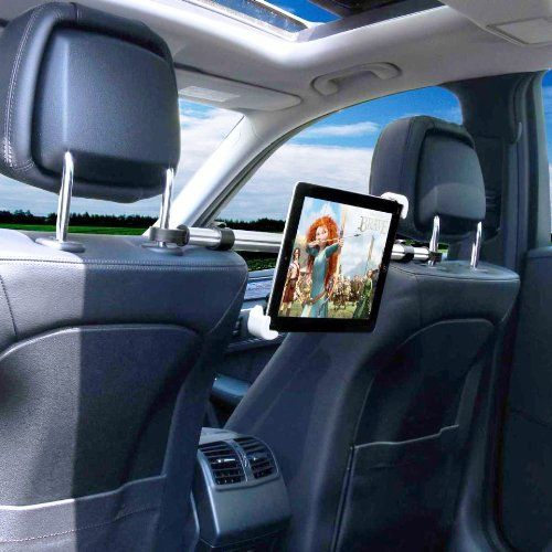 Car Or Truck Seat Rail Floor Tablet Mount With 22 Arm For Ipad Air