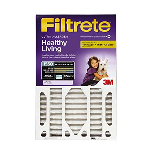 Filtrete Healthy Living Ultra Allergen Deep Pleat Filter Mpr 1500 20inch X 25inch X 5inch 478inch Depth Check Out This Great Produ Filters Allergens Hvac Air