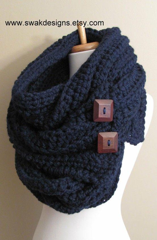 Pin von Nerice Lochansky auf Crochet | Pinterest | Schal knoten ...