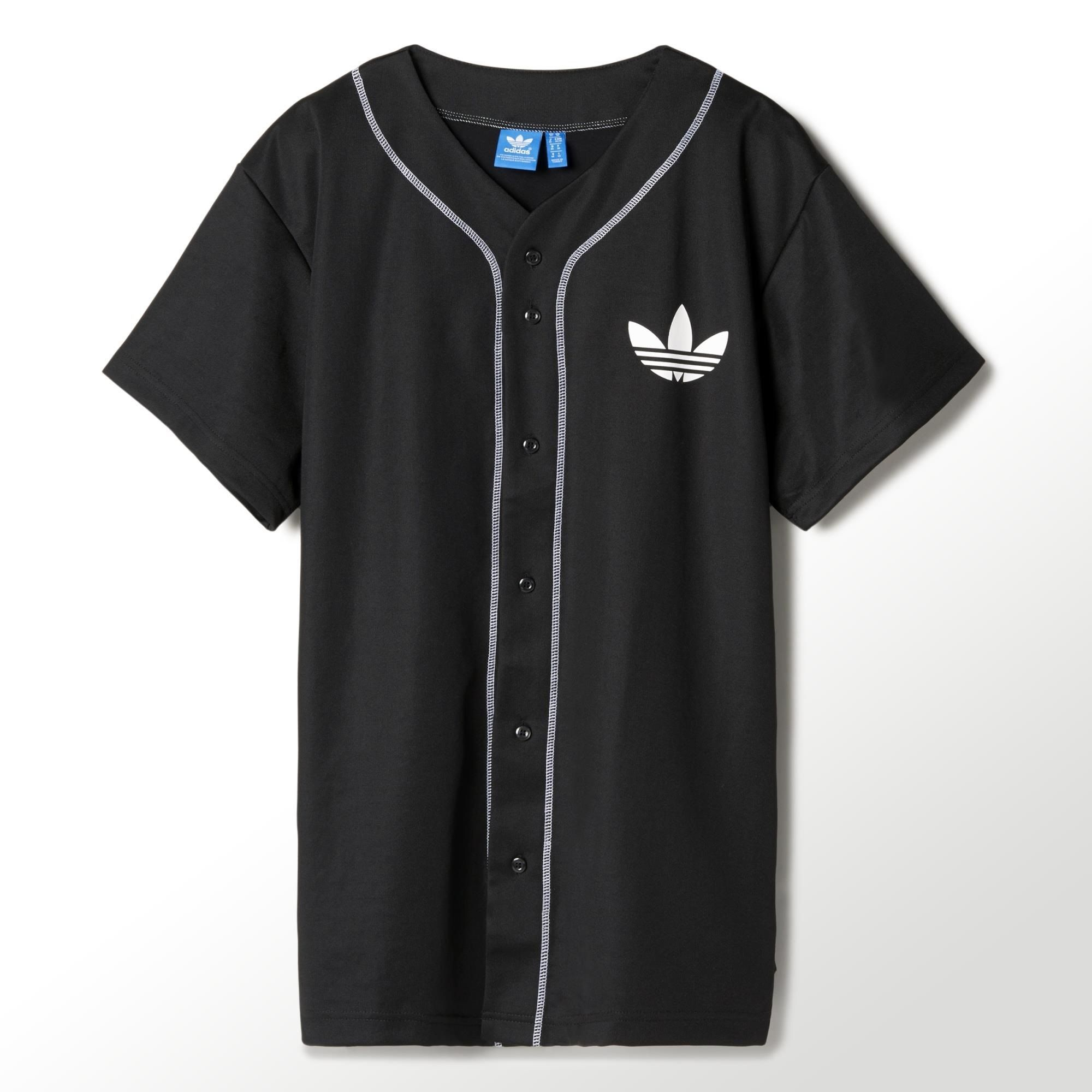 f8601043646c3 Camiseta NBA Brooklyn Nets Baseball adidas