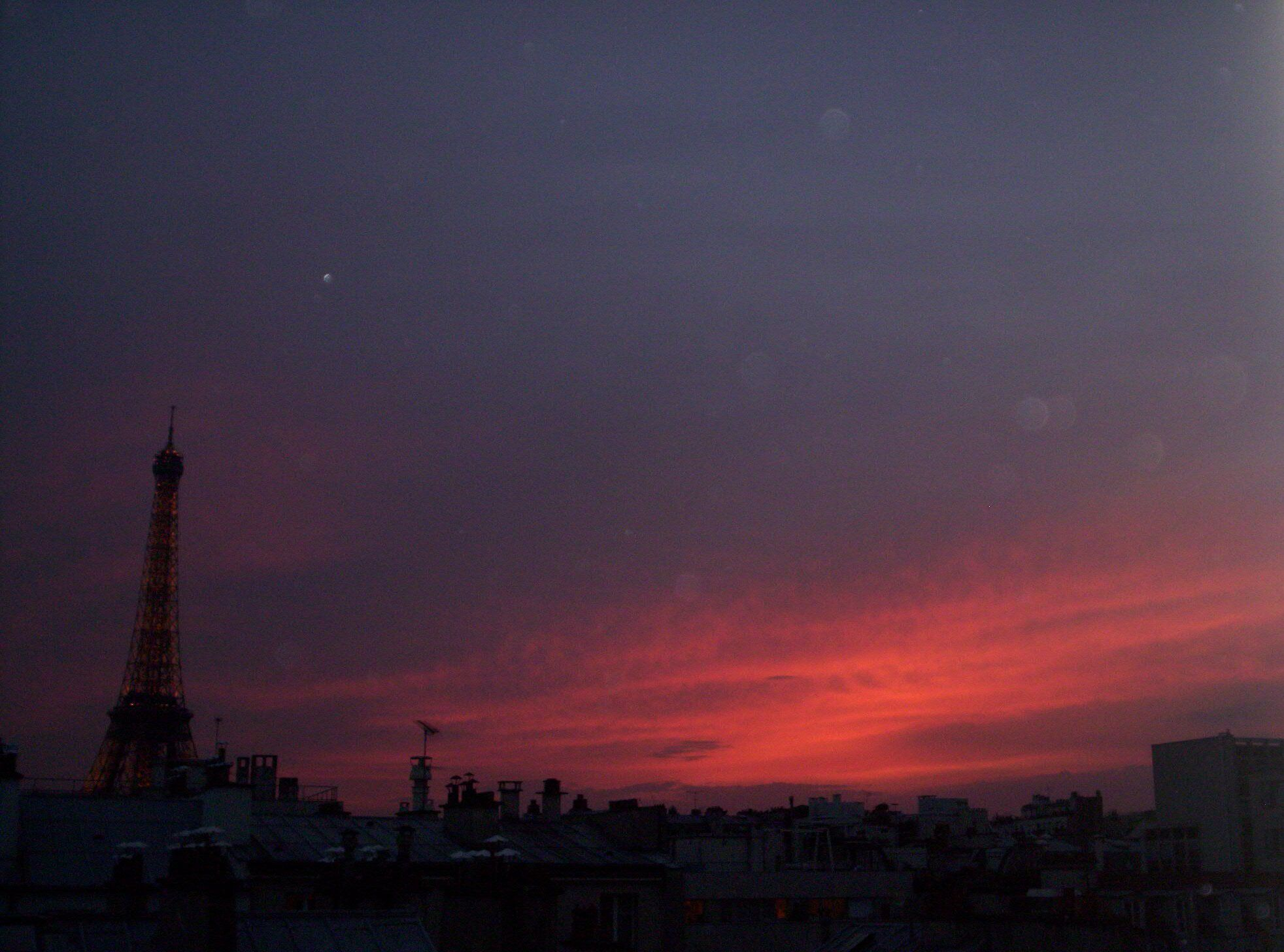 Sunset, Paris.