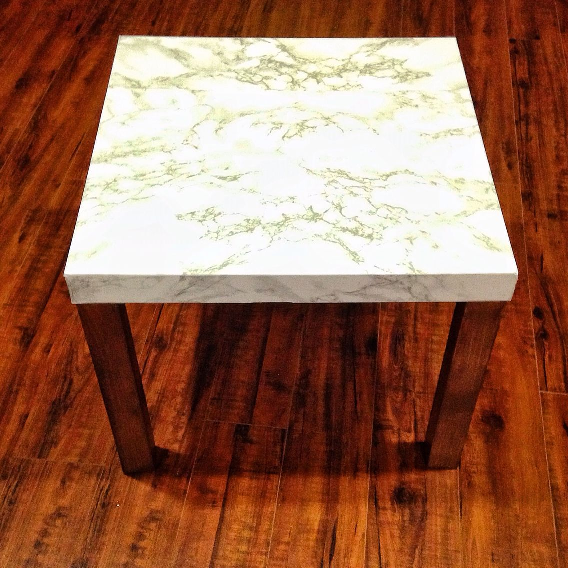 Ikea Lack turned to marble accent table | Dream Home, Much ...