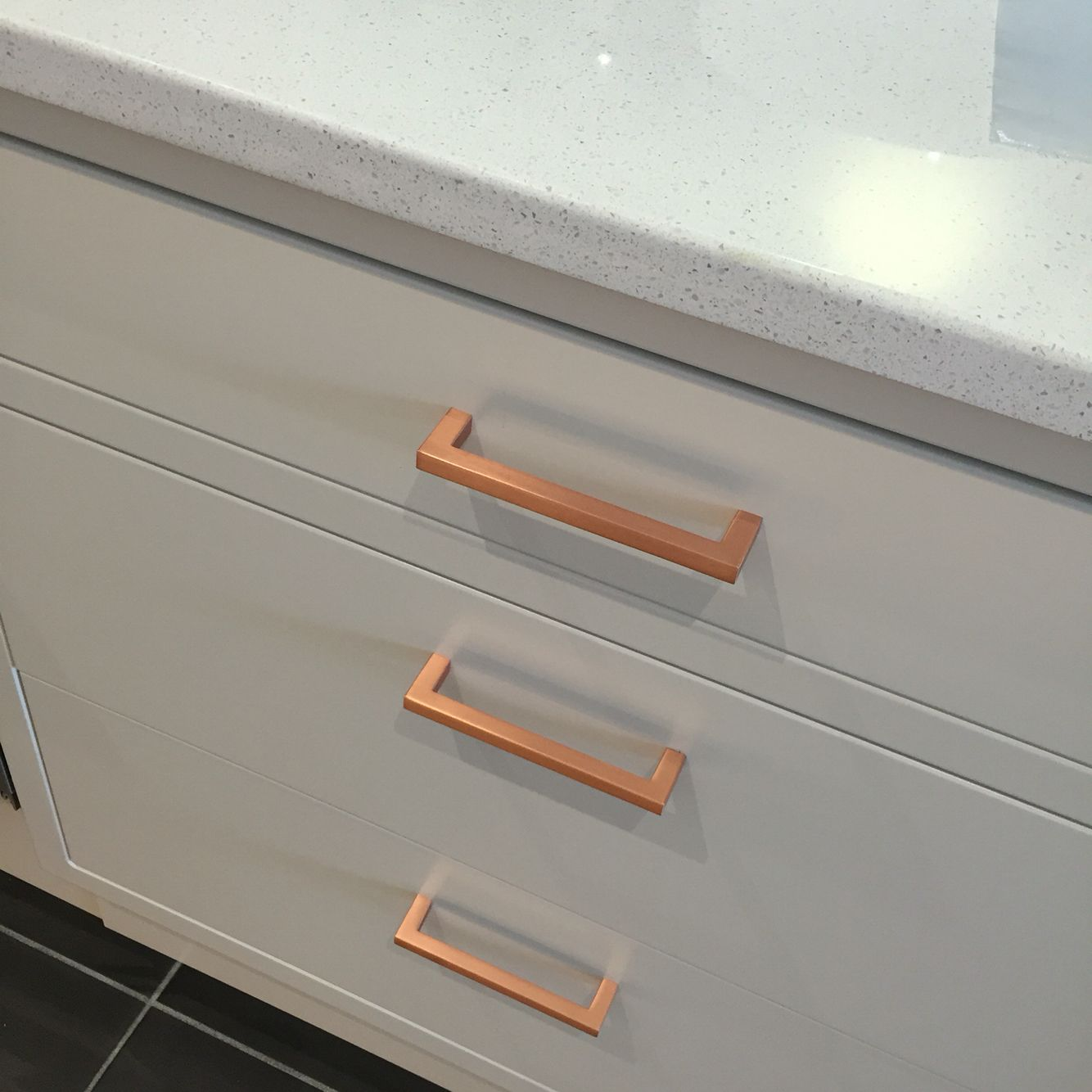 Love These Satin Copper Handles From Magnet Kitchens