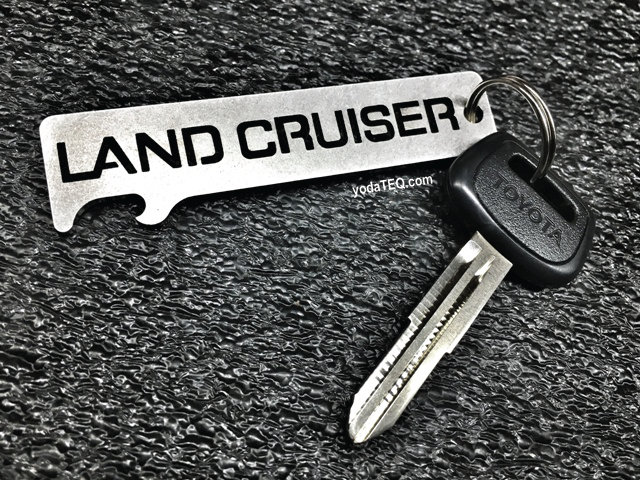 Toyota Land Cruiser 2 Stainless Steel Keychain Bottle Opener Land Cruiser Toyota Land Cruiser Cruisers