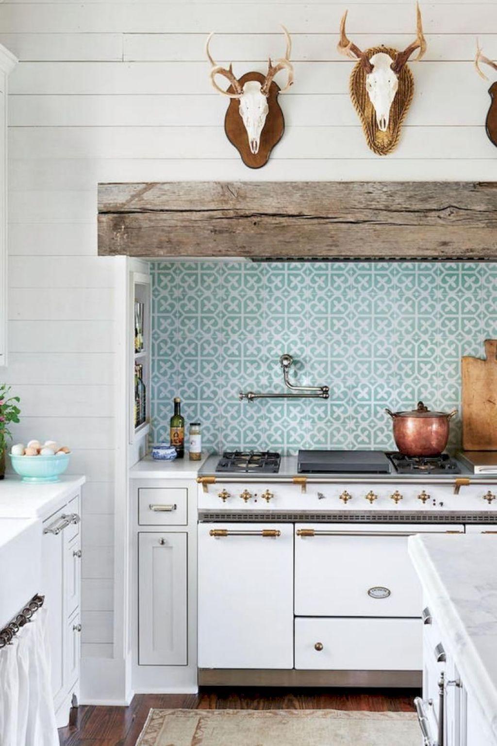Nice 100 Best Modern Farmhouse Kitchen Backsplash Ideas https ...