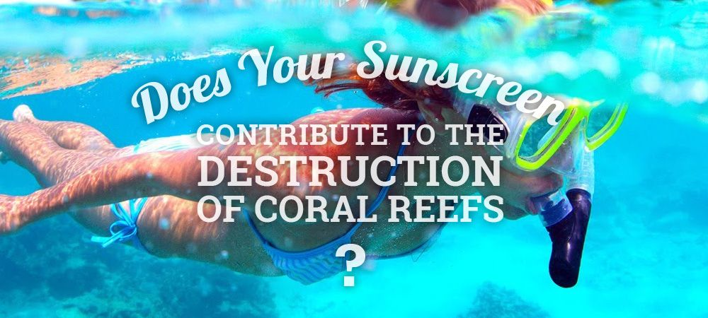 does your sunscreen contribute to the destruction of coral reefs