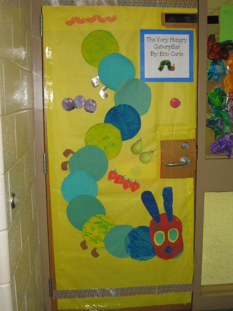 The Very Hungry Caterpillar Door