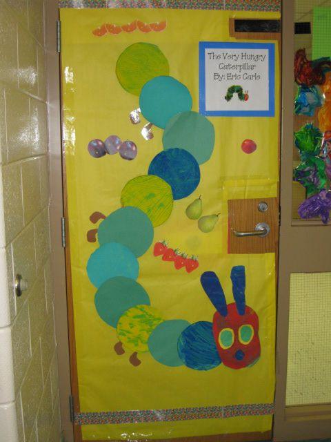 The Very Hungry Caterpillar Door | Therapizing SLP ...