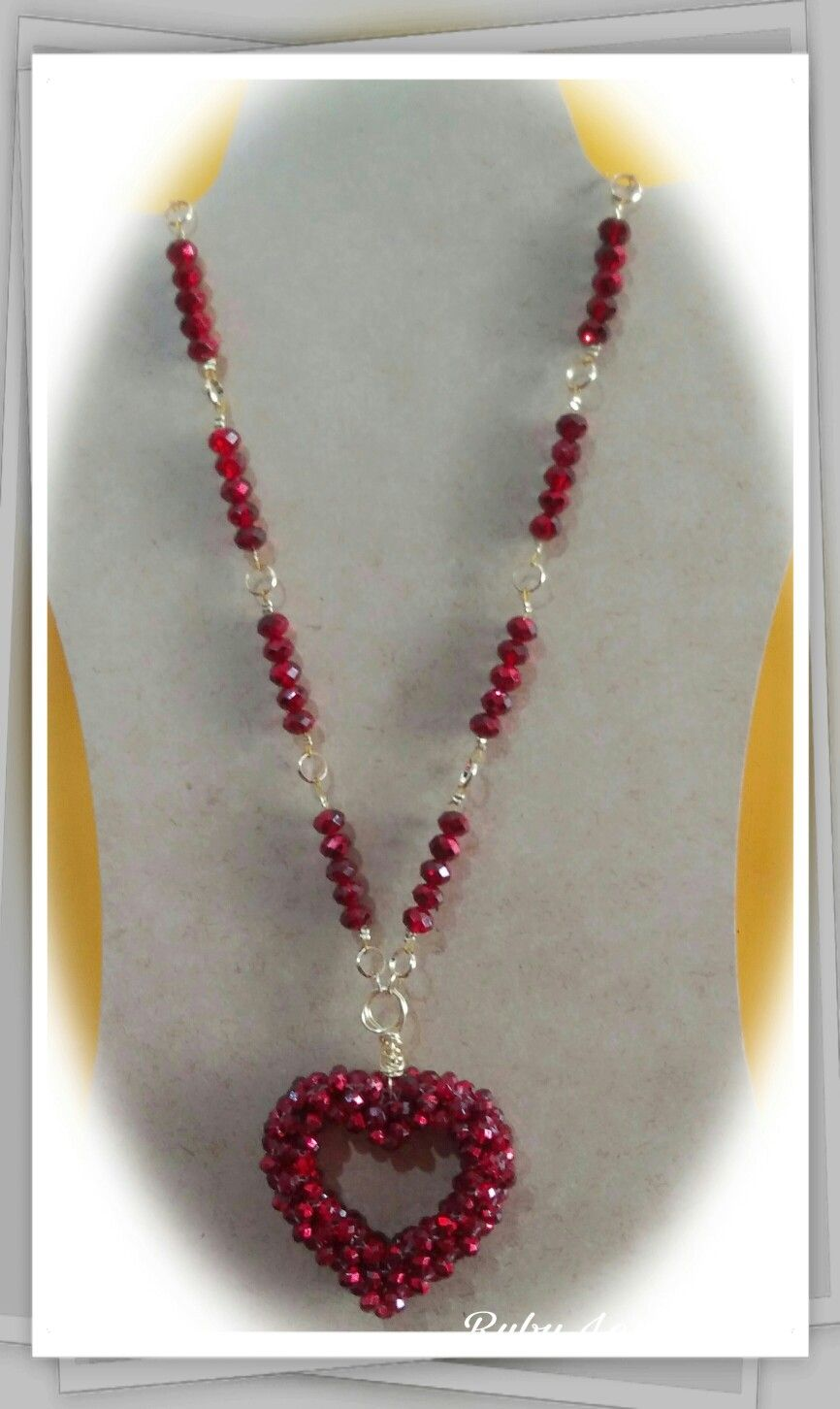 83ee043b8bbd collar de cristales y aros de oro laminado