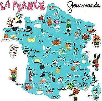 Platos t picos de francia fle culture pinterest for Comida francesa nombres