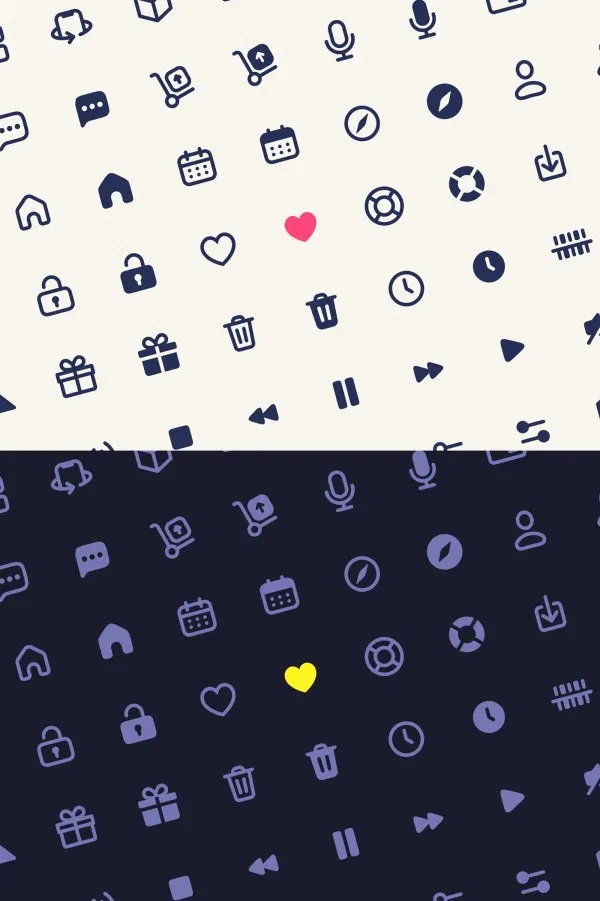 Here is a nice free icons library for Figma users designed