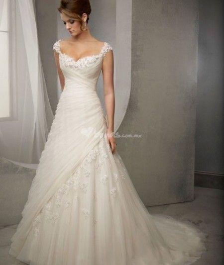 Pin von naz auf MODA PARA NOVIAS | Pinterest | Hochzeitskleider ...