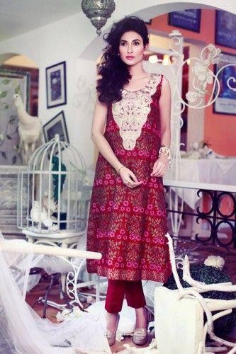 1698dcd98 Tena Durrani Fall Eid ul Azha Dresses Collection 2014 2015