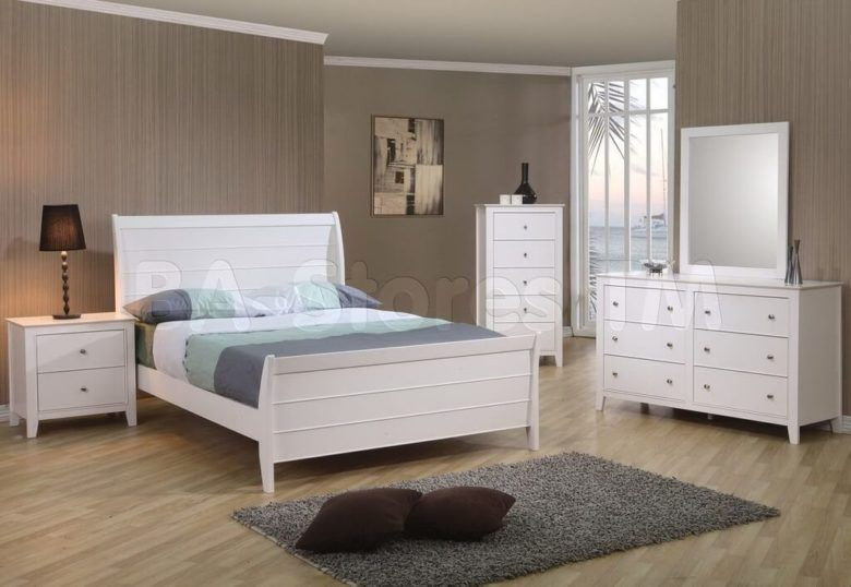 Weiß Full Size Schlafzimmer Set Schlafzimmer Weiß Full-Size
