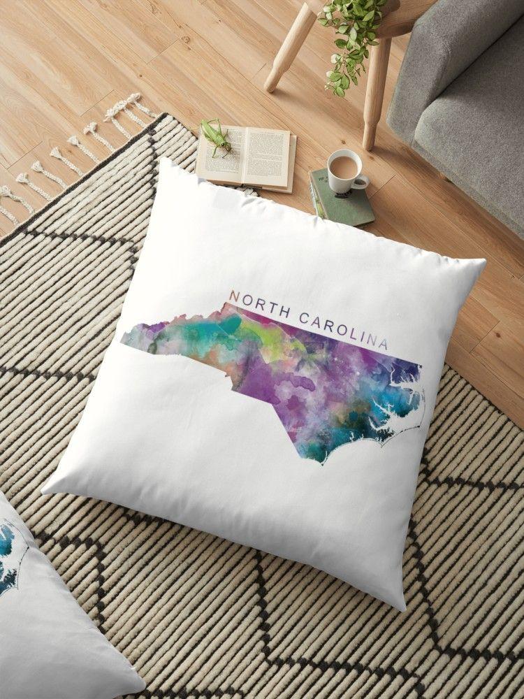 North Carolina northcarolina unitedstates usa map art