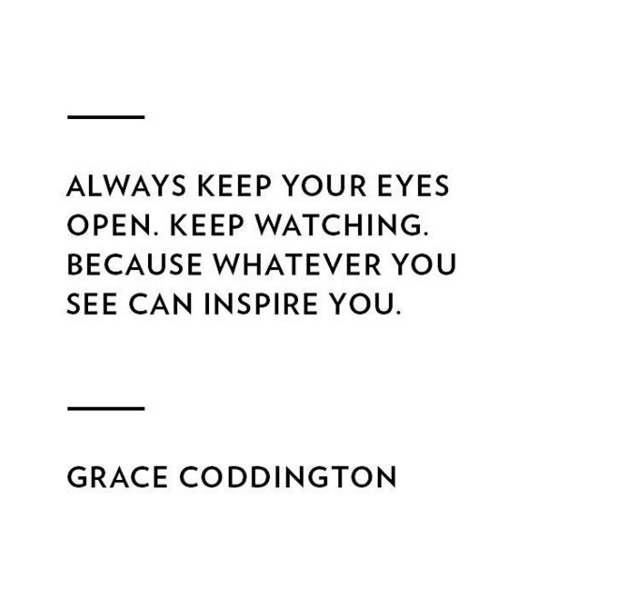 Always Keep Your Eyes Open Keep Watching Because Whatever You See