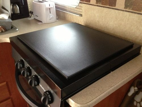 Finished Gas Stove Cover Useable As Counter Top Stove Cover Stove Top Cover Best Kitchen Sinks