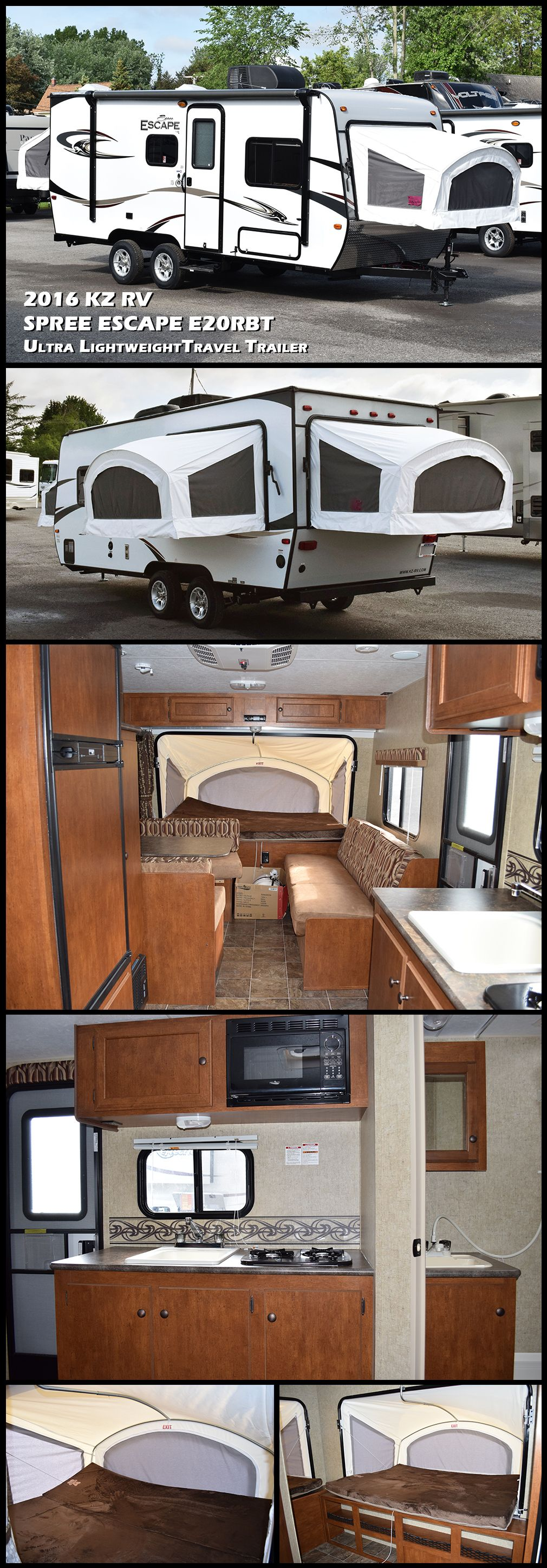 Pin On Expandable Travel Trailers