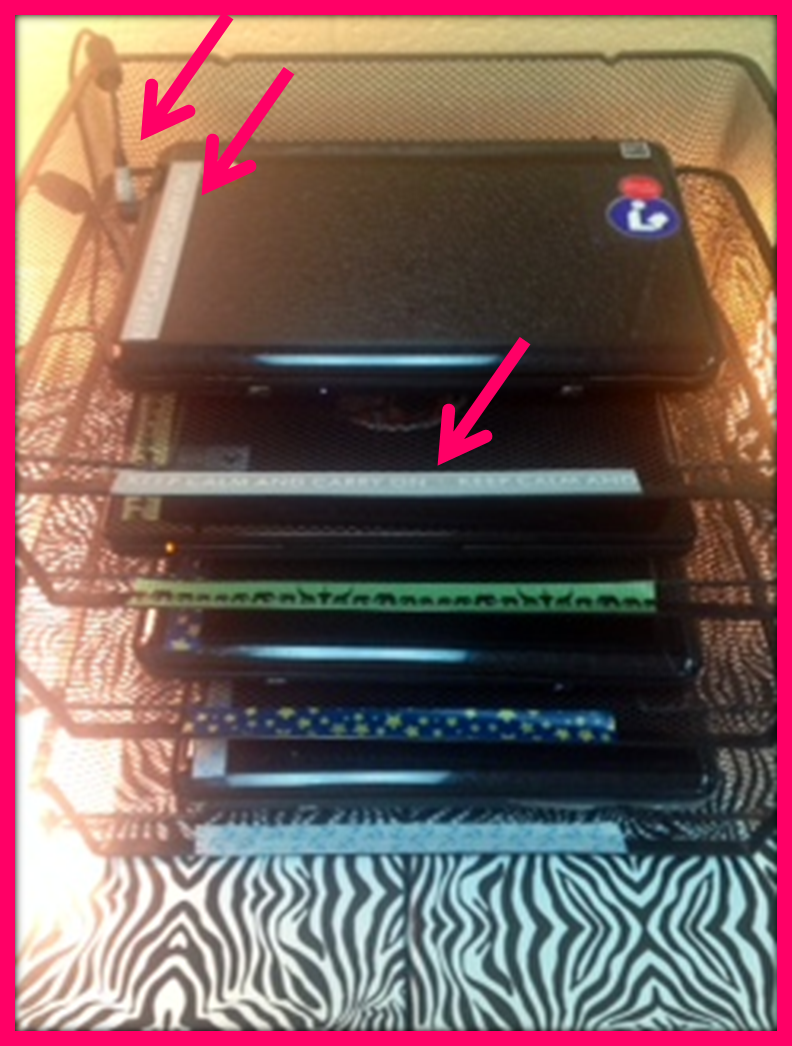 Oodles Of Teaching Fun Monday Made It Laptop Storage Classroom Classroom Storage Diy Classroom