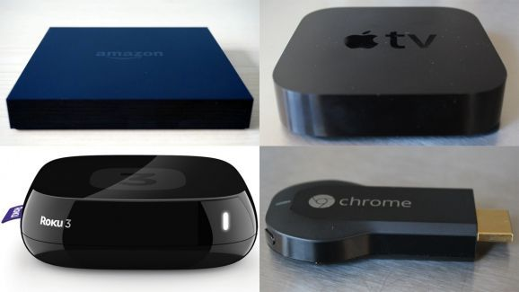 Roku vs. Apple TV vs. Chromecast vs. Amazon Fire TV vs