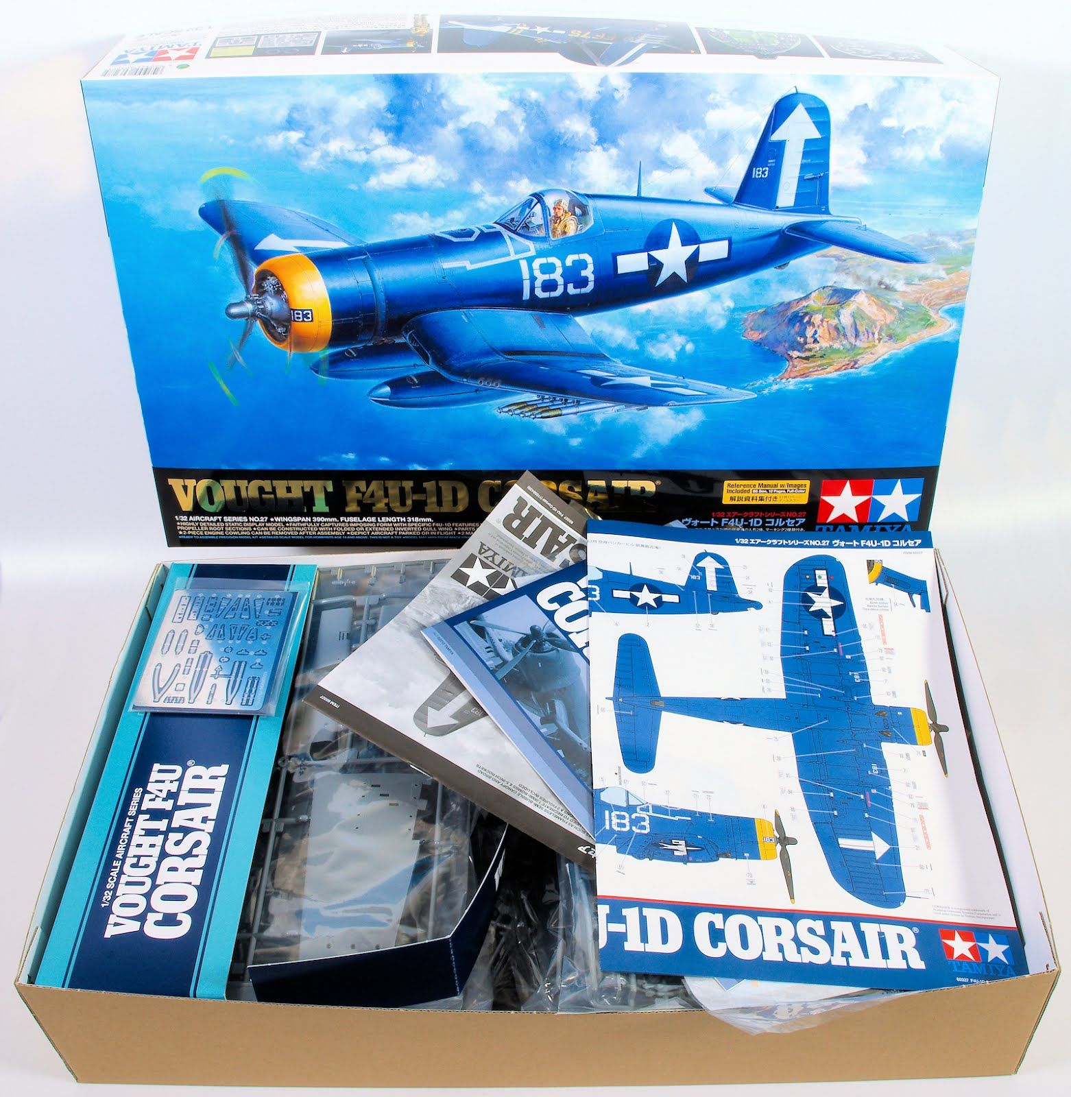 In Boxed 1 32nd Scale F4u 1d Corsair From Tamiya Tamiya The Modelling News Aircraft Modeling
