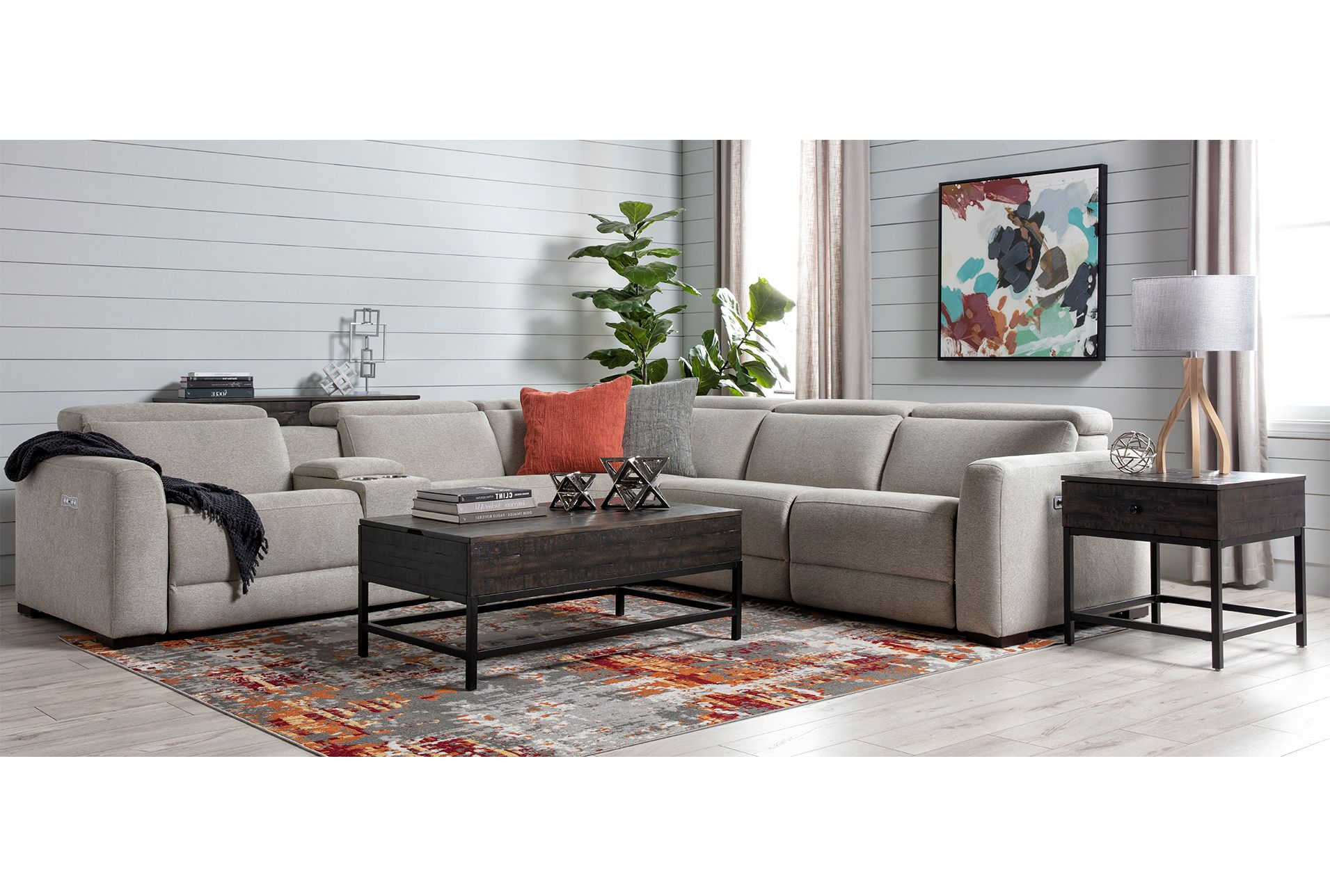 Union City Lift Top Coffee Table Bark American Signature Furniture Coffee Table Living Room Table Lift Top Coffee Table [ 1000 x 1000 Pixel ]