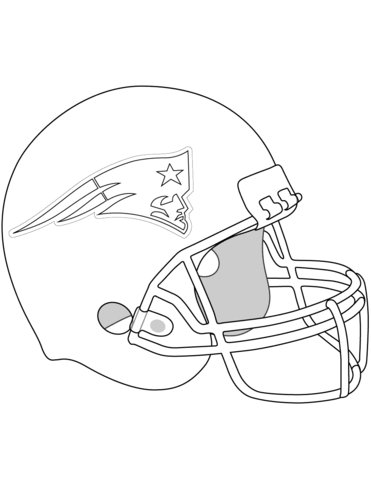 New England Patriots Helmet Coloring Page From Nfl Category Select From 25743 Pr New England Patriots Helmet Football Coloring Pages New England Patriots Logo
