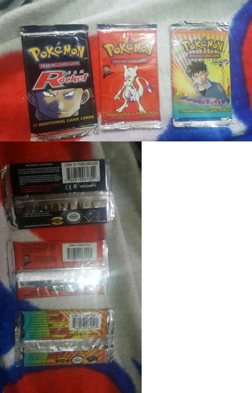 Pok mon Sealed Booster Packs 4301: Pokemon Team Rocket, Base Set 2, And Gym Heroes Booster Packs -> BUY IT NOW ONLY: $60 on eBay!