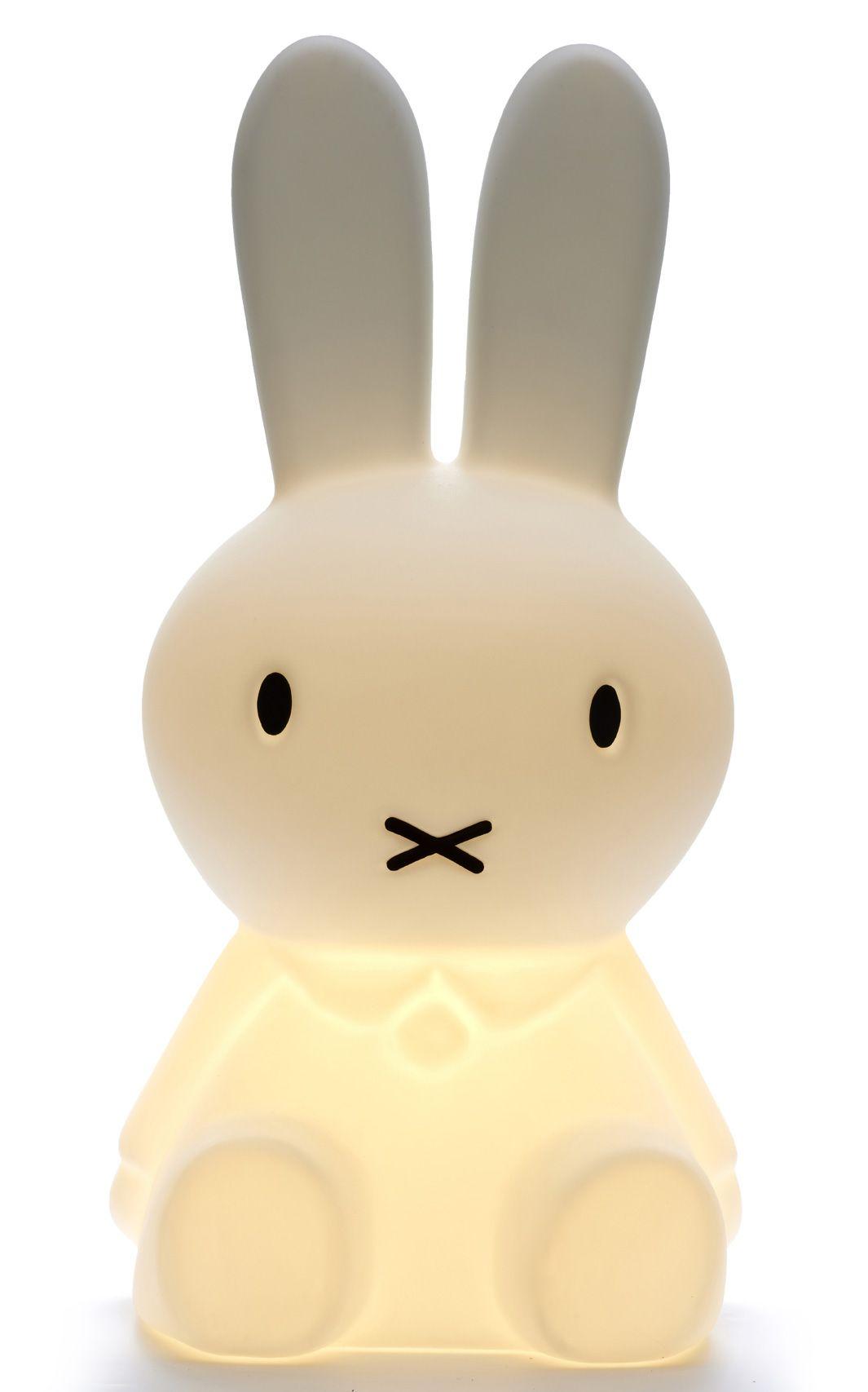 Lampe Veilleuse Lapin Miffy laurie lumière, luminaire chambre enfant, lampe veilleuse