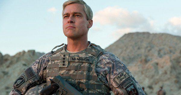 Netflix Hopes Brad Pitt S Star Power Will Fuel Their War Machine Fullact Trending Stories With The Laugh Mixture Novos Filmes Brad Pitt Militares
