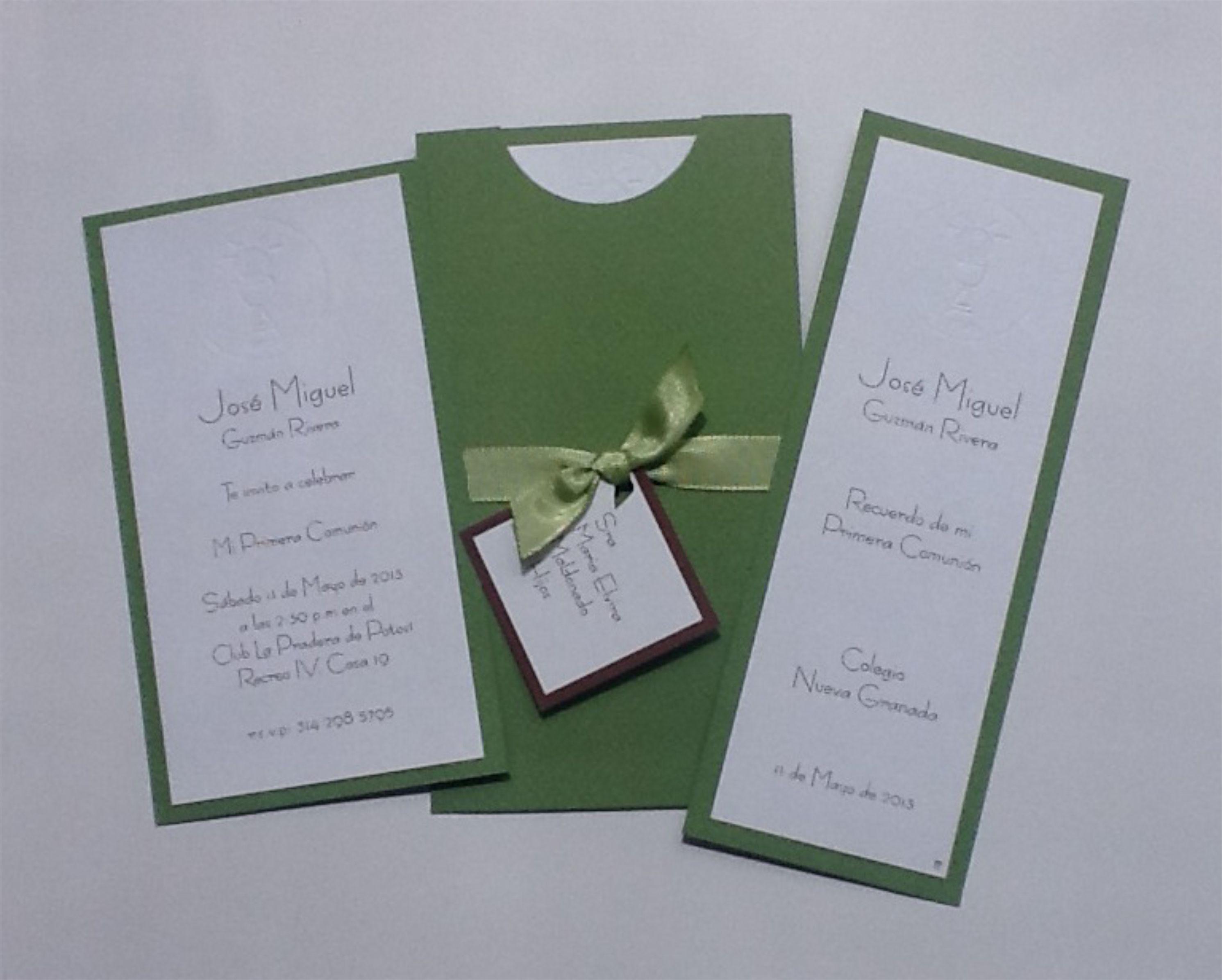 Invitaciones de comuni n hechas a mano wallpaper gratis - Como hacer tarjetas de comunion ...