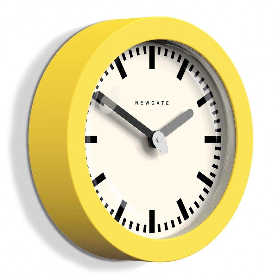 Newgate Andromeda citrus yellow wall clock - Home Accessories - Home ...