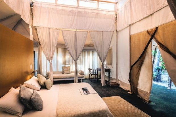 The Mughal Tent Suite at Paros by Amarya on Morjim beach, Goa