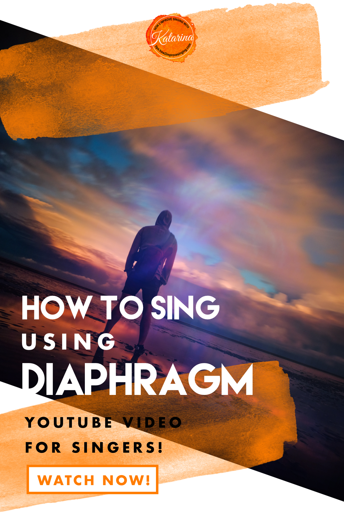 A video about the role of diaphragm in singing and how to