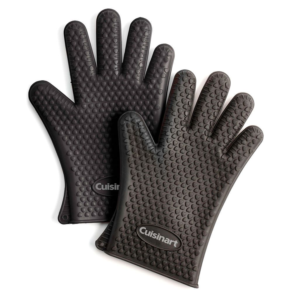 Silicone Grilling Gloves 2 Pack Silicone Gloves Heat Resistant Silicone Gloves Set