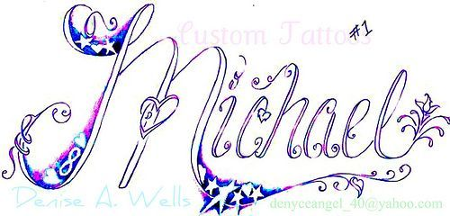 Name Mike Michael Name Tattoo Names And Letters Pinterest Name Tattoos Name Drawings Tattoo Lettering
