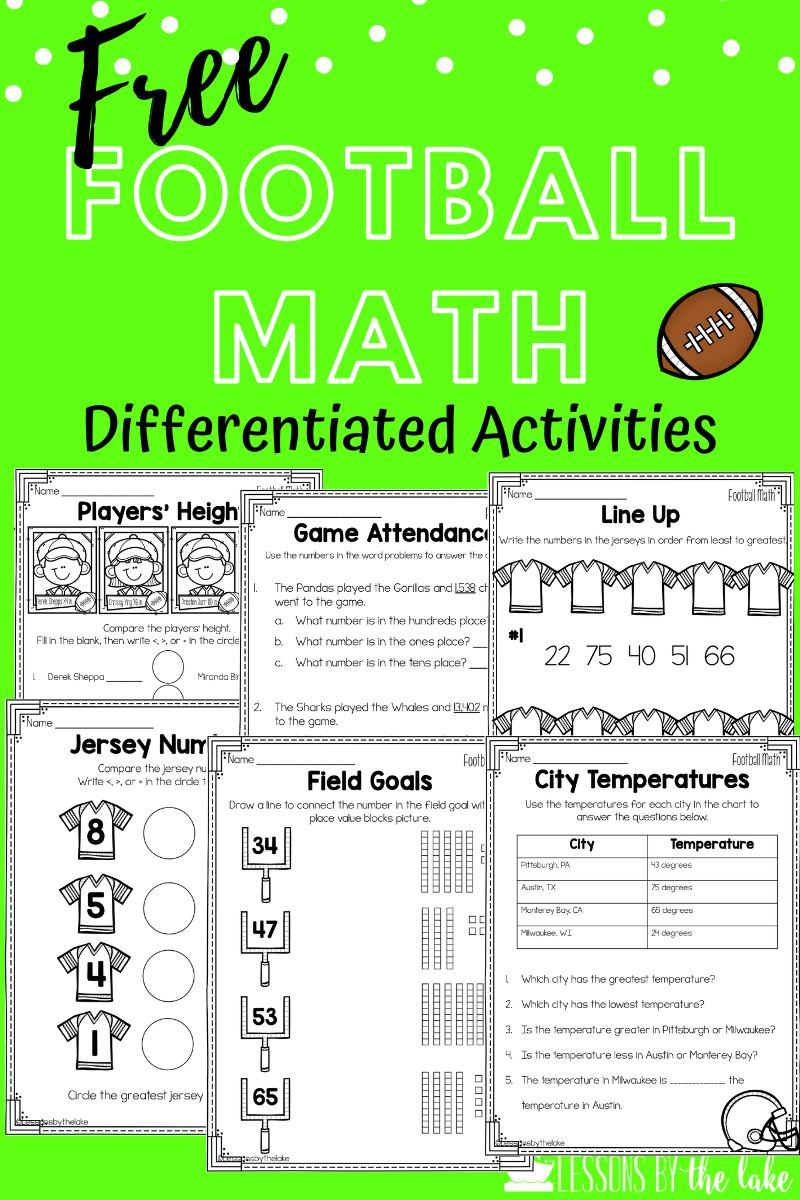 Free Math Worksheets Differentiated Real Life Math Free Math Activity Math Connections [ 1200 x 800 Pixel ]
