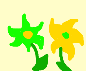 Cellophane flowers of yellow and green lucy in the sky pinterest cellophane flowers of yellow and green mightylinksfo