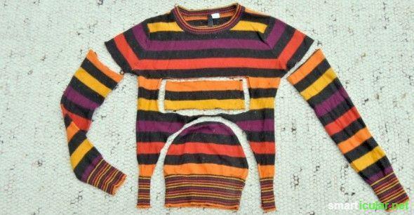 Alte Kleidung upcyceln neue Dinge aus Jeans und Stoffresten