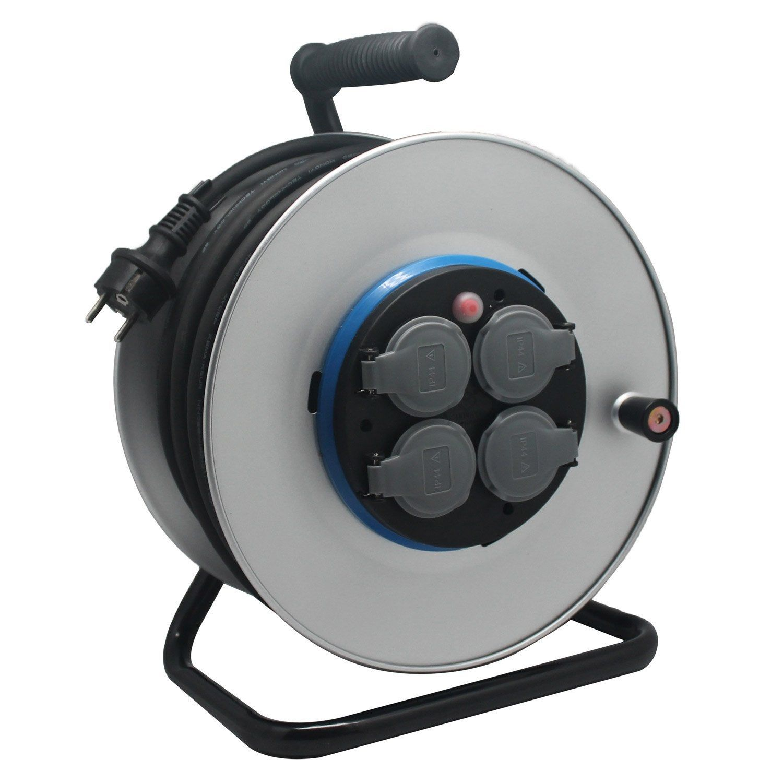Enrouleur Electrique Chantier Avec Terre L 40 M Ho7rnf 3g1 5 Electraline Chantier Enrouleur De Cable Et Cable Electrique