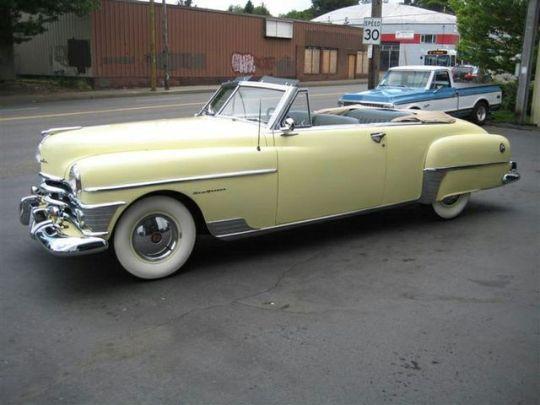 1950 chrysler convertible