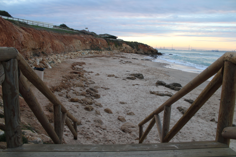 playa de la calita en El Puerto de Santa María