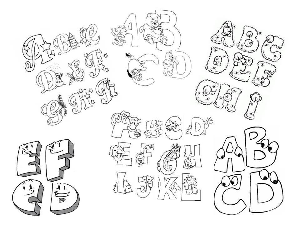 Letras Bellas Para Carteleras Dibujos Foami Fotos  BsF 10000 en