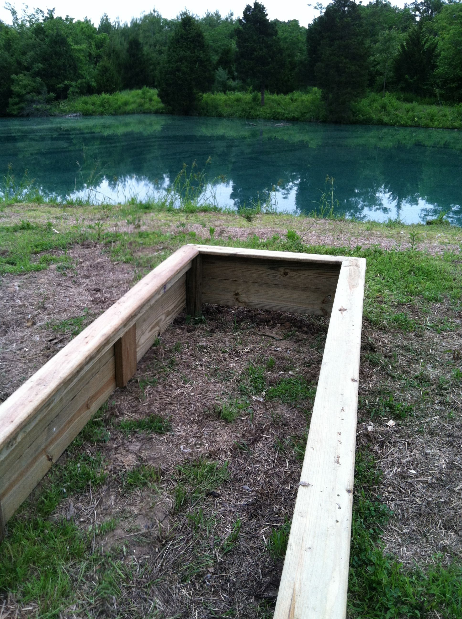 Raised Garden Bed Just Made This It Is 12 Feet Long 4 400 x 300