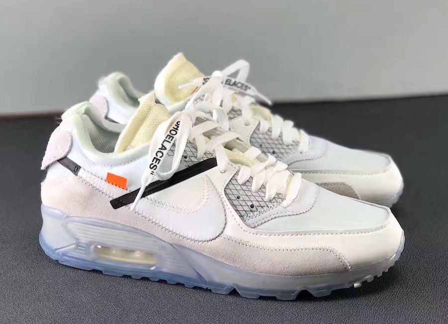 nike white off air max 90