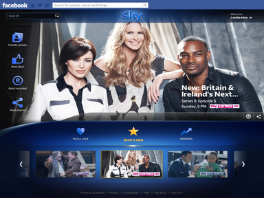 Sky's new social sharing app lets users record TV from