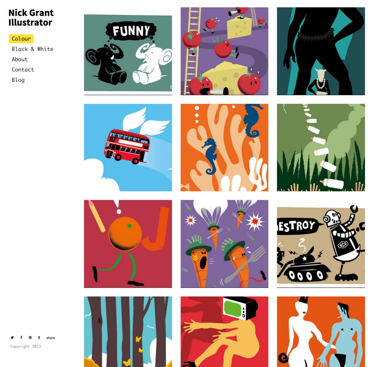 20 incredible illustration portfolio examples you should